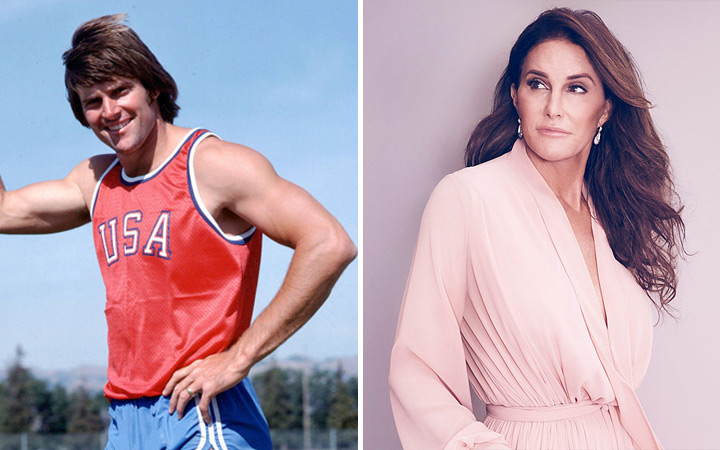 Bruce Jenner then and now woman