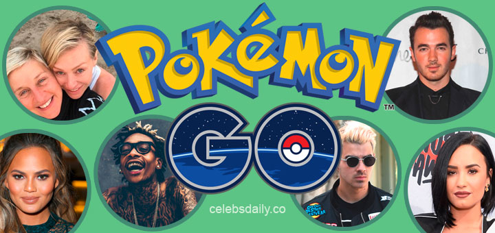 Pokemon GO Celebrities